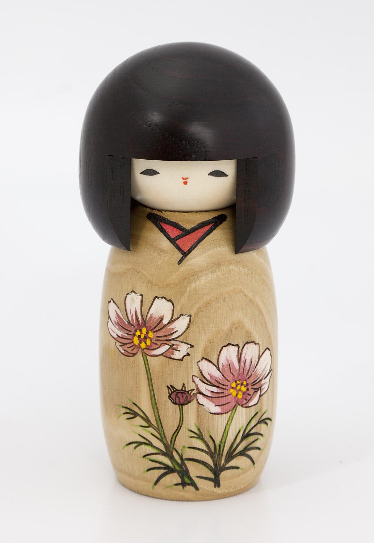 こけし「花物語 桜」