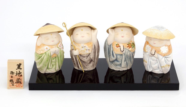 博多人形 「笠地蔵」